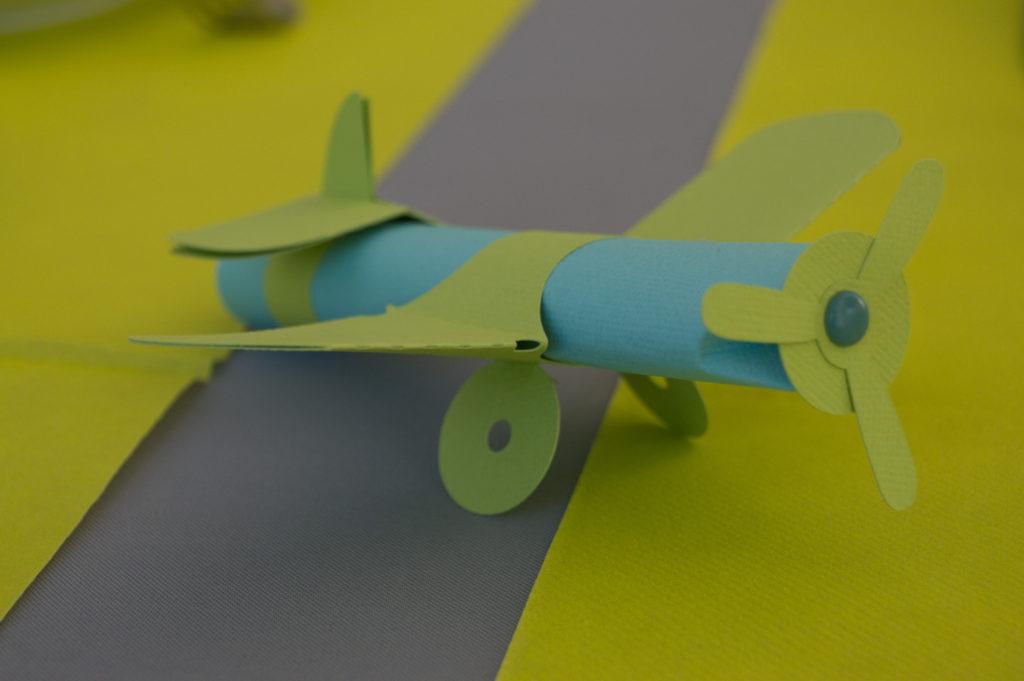 Petits avions découpés avec Silhouette